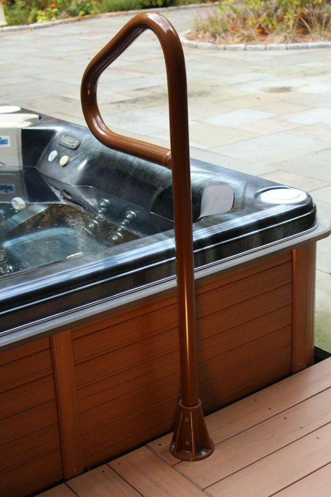 SpaEase Hot Tub Safety Rails - Hot Tub Products