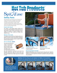 SpaEase Safety Rails SellSheet